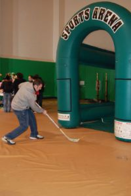 Inflated Sports Arena - Hockey