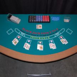 Casino - Black Jack Table