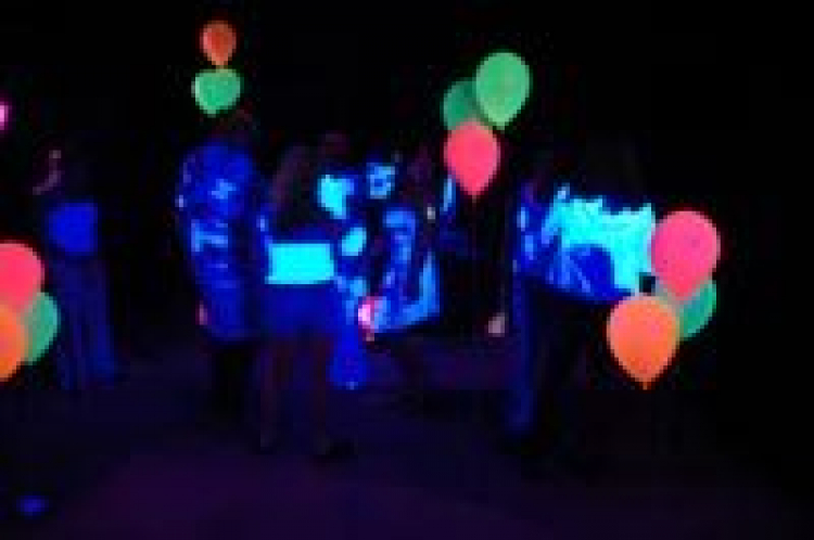 Blacklight Dance Party