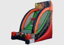 Inflated Hoops Zone - 1 person