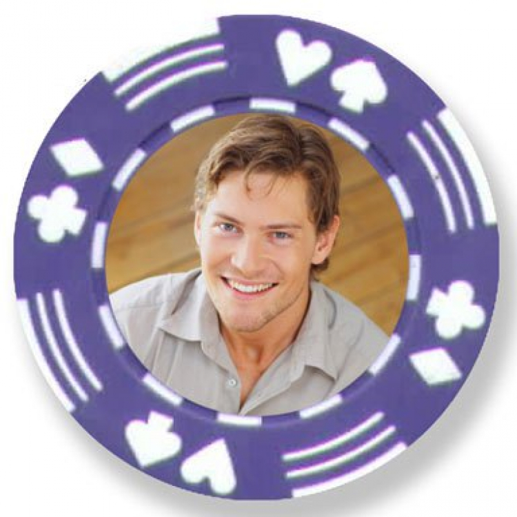 Photo Poker Chips