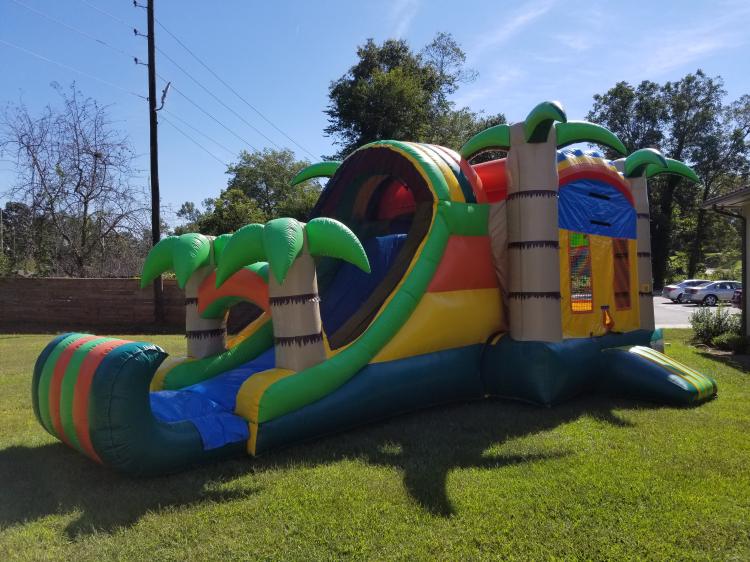 Tropical Combo Bounce House King Phenix City Al