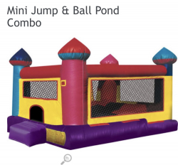 Mini jump perfect for the little ones!