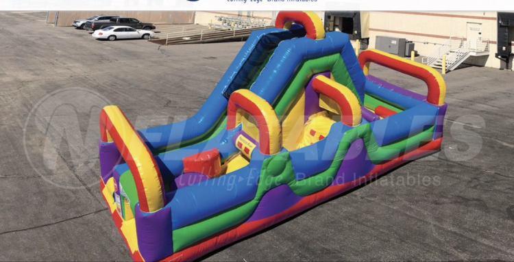 Wacky 180 Obstacle course