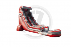 22 FT Hot Magma Water Slide