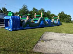 Blue Crush 70' Obstacle