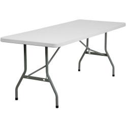 6' RECTANGULAR PLASTIC TABLE