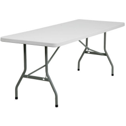 6' RECTANGULAR PLASTIC TABLE