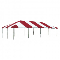 Tent - 20x40 Red/White Low Peak