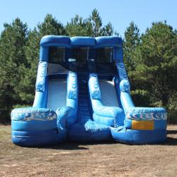 Wet Slide - Double Splash (18' High)