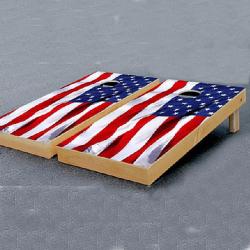Corn Hole - B (American Flag)