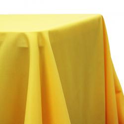 90x156 Rect. Lemon Linen Linens