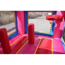 C 119 Pink Combo 4 4in1 Pink Bounce House $170