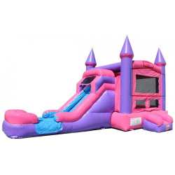 4in1 Pink Bounce House $150
