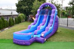 JC WS15PAC 2 p151 l g688 z650 60025495 16ft Purple Water Slide $235