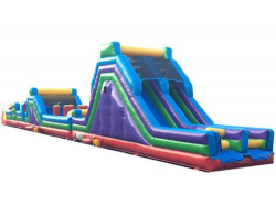 80ft Long Obstacle Course