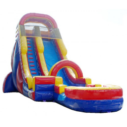 22ft Red Water Slide $285