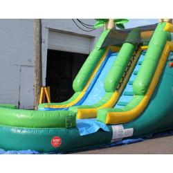 W 351 Palm Tree Slide 4 14ft Tropical Water Slide $215
