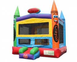 Crayon Bounce House  $99