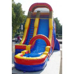 fd 878391090 22ft Red Water Slide $310