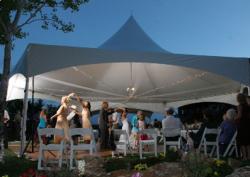20' x 20' High Peak Frame Tent