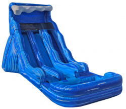 Big Wave Dual Lane Water Slide
