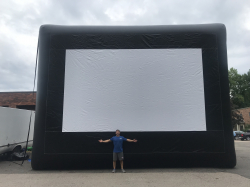 Mega Inflatable Movie Screen