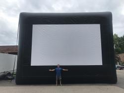 Mega Inflatable Movie Screen