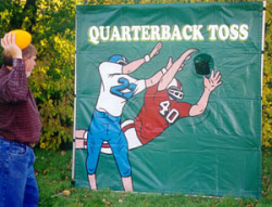 Quarterback Toss Non-Electric