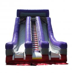 Dual Lane Dry Slide