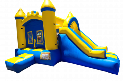 Blue and Yellow Slide Combo