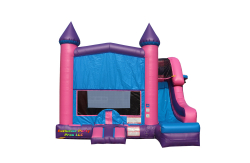 $179 Pink Castle Combo Side Slide Dry ALL DAY RENTAL