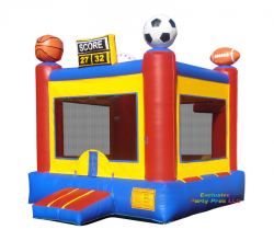 $129 Sporty Bounce House ALL DAY RENTAL