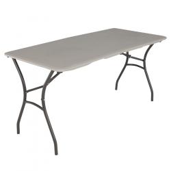 Six Foot Plastic Table - $10.00