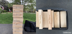 Back Yard Jenga
