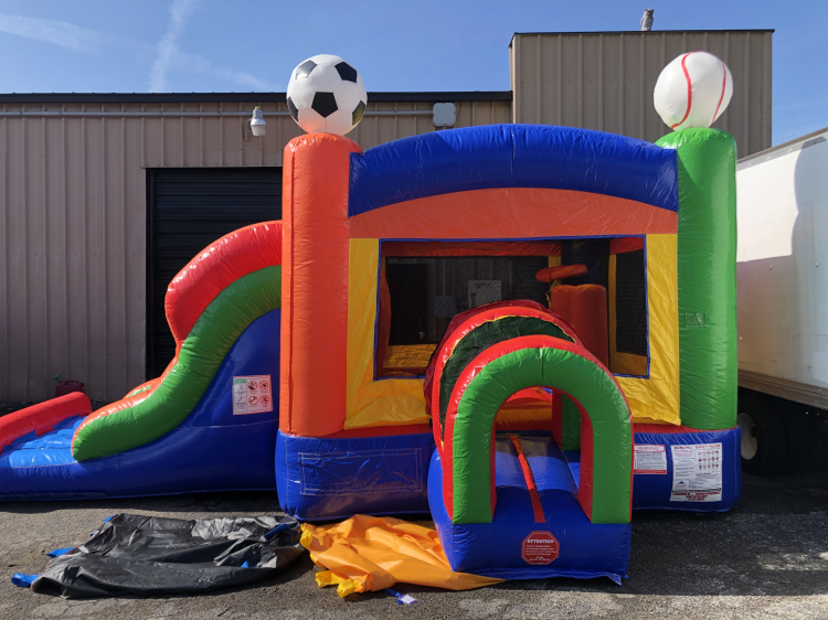 Play Ball Combo: Bounce House and Slide