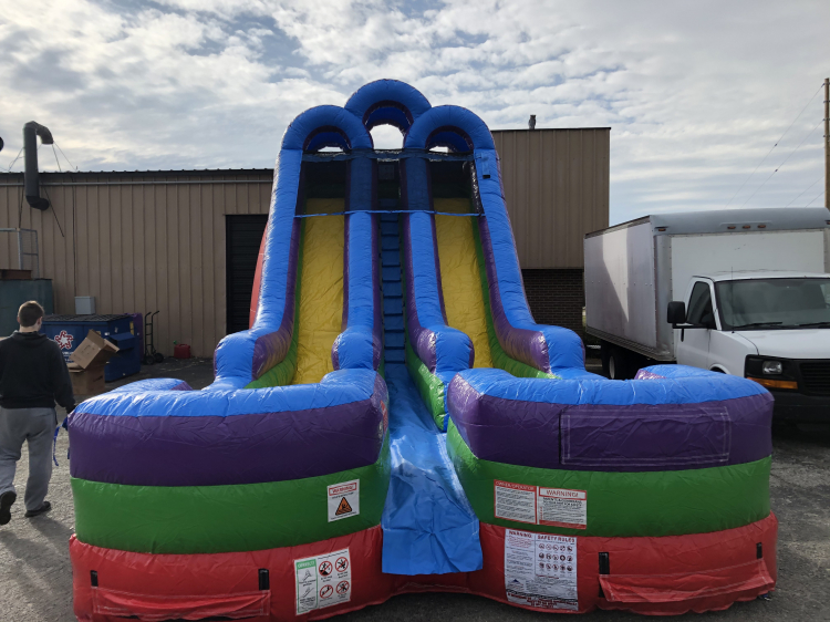 perfect inflatable water slide rental