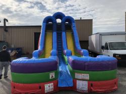 Rainbow Racer #2 Dual Water Slide