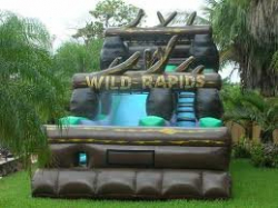 21' Wild Rapids Water Slide $350