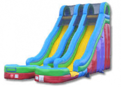 24' Awesome Dry Slide - Dual