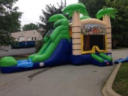 Jungle Bounce & Slide (H20 compatible)  $215