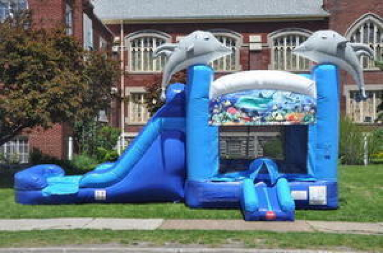 the best inflatable water slide rental Jeffersontown, KY