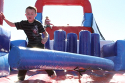 Rugged Warrior Challenge Obstacle