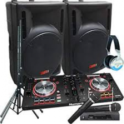 PA/DJ Mix System Rental