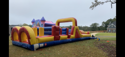 40ft Dry Obstacle Course