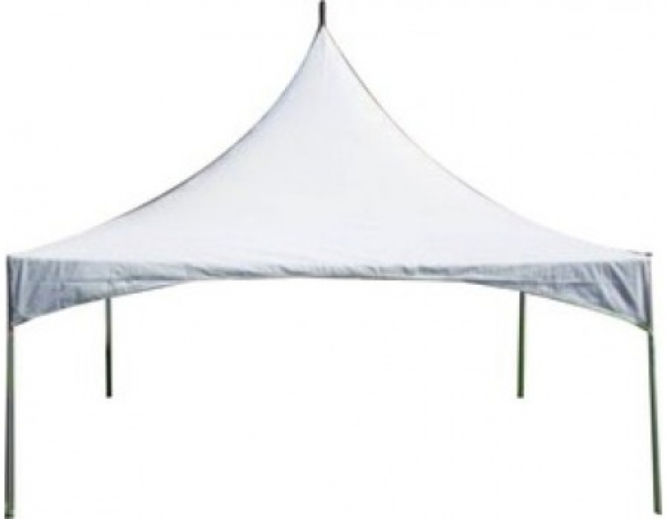 Tent 20 x 20 Frame White High Peak – The Rental Party
