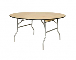 60 Wood Round Table