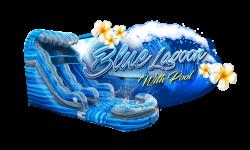 BLUE LAGOON waterslide w/pool Package