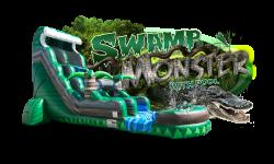 SWAMP MONSTER w/pool