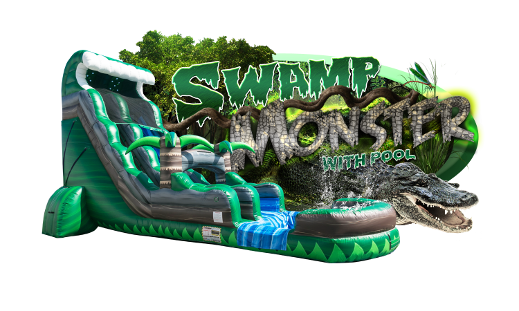 SWAMP MONSTER w/pool